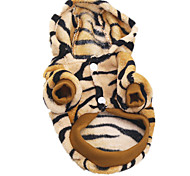 Dog Costume Dog Clothes Casual/Daily Animal Brown