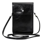 Per la borsa universale di cuoio del ib5 di cuoio universale di tasca per il telefono delle cellule 3.5-5.5'cell (colore rosa grigio nero)