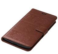Для lg ls770 держатель карты с подставкой с тиснением корпус полный корпус корпус сплошной цвет твердая кожа pu