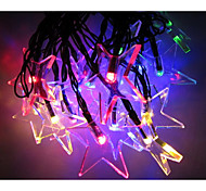 4M Led 2V Cool Multi Color solar Waterproof String Light