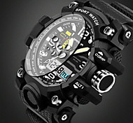SANDA Men's Kids' Sport Watch Military Watch Smart Watch Fashion Watch Wrist watchCalendar Water Resistant / Water Proof Alarm Luminous