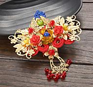 Lolita Accessories Classic/Traditional Lolita Headwear Vintage Inspired Lolita Accessories Headwear For Alloy