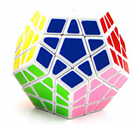 Toys Smooth Speed Cube Megaminx Novelty Magic Cube White ABS