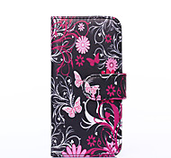 For Apple iphone6s iphone6s Plus iphone6 iphone6 Plus The Butterfly Pattern PU Leather Case