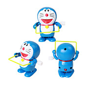Wind-up Toy Novelty Toy Toys Novelty Cat Plastic Blue For Boys For Girls