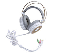 Enmey YM-G800 Stereo Bas Gaming Headset with Vibration and Colorful Dazzle Light for PC Game and Listen