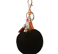 Key Chain Sphere Key Chain Rainbow / Black Metal / Plush
