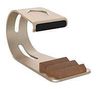 Paifan Watch Stand for Apple Watch Series 1 2 Ipad Iphone 7 6 plus 5 5s 5c Metal All-In-1 38mm / 42mm No Data Line