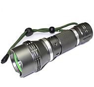 Iluminación Linternas LED LED 1200 Lumens 5 Modo LED 18650.0 Enfoque Ajustable A Prueba de Agua Tamaño Compacto Super Ligero