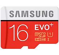 SAMSUNG MicroSD Memory Card 16G SDHC EVO Class 10 Micro SD C10 UHS TF