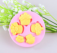 Small Cakes Fondant Cake Chocolate Silicone Molds,Decoration Tools Bakeware