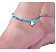 Women's Anklet/Bracelet Alloy Fashion European Hamsa Hand Jewelry For
