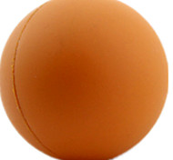 Dog Toy Pet Toys Ball Football Brown Rubber