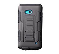 Для Кейс для Nokia Защита от удара / со стендом Кейс для Чехол Кейс для Армированный Твердый PC Nokia Nokia Lumia 640