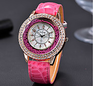 Quartz Watch Women Luxury Leather Watches Ladies Popular Casual Fashion Gold Watch Relogios Femininos Reloj Mujer