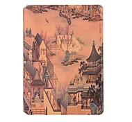 Для Бумажник для карт Оригами Кейс для Чехол Кейс для Панорама города Твердый Искусственная кожа для Apple iPad 4/3/2