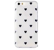 Liebe Muster Lichttelefonkasten rückseitigen Abdeckung für iphone5c