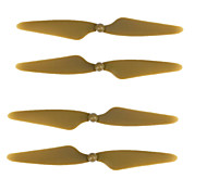2 Pairs Gray ABS AB Prop Blades Propellers CW/CCW Replacement For for Hubsan H501S