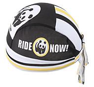 XINTOWN Panda New Riding Bandana Kerchief Bicycle Bike Pirate Hat Cycling Headband Mens and Womens Cap Black & White