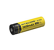 NITECORE NL1826 2600mAh 3.7V 9.6Wh 18650 Li-ion Rechargeable Battery