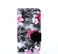 For Nokia Nokia Lumia 630 Flowers PU Leather Case