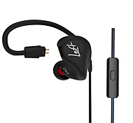 KZ ZS3 In Ear Earphone Stereo Running Sport Earphone Noise Cancelling HIFI Monito Earphone with MIC