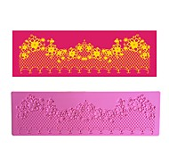 Flower Chain Decoration Lace Mat LFM-35