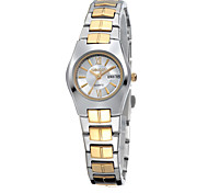 Unisex Fashion Watch Quartz Alloy Band Silver Gold