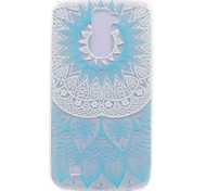 For LG K10 K7 NEXUS 5X X Power Blue Pattern Painting TPU Phone Case
