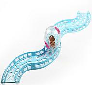 Грызуны Колесо для упражнений Пластик Синий