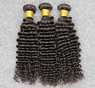 Ciocche a onde capelli veri Brasiliano Molto ondulata 12 mesi 3 pezzi tesse capelli