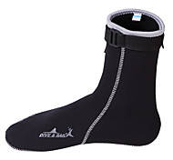 Water Shoes/Water Booties & Socks Swimming Diving / Snorkeling Rubber Black