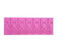 Flower Chain Decoration Lace Mat  LFM-32