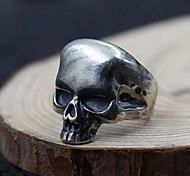 Ring Jewelry Sterling Silver Skull / Skeleton Silver Jewelry Daily Casual 1pc