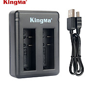 Kingma BM037 Dual-Slot Battery Charger for Xiaomi Xiaoyi and AZ16-1 Battery --Black