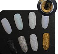 Holographic Glitter Powder Shining Sugar Glitter Dust Powder Manicure Nail Art Decoration
