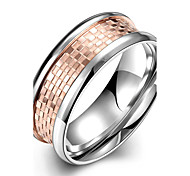 Ring Jewelry Steel Fashion Pink Jewelry Casual 1pc