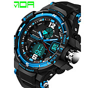 Men's Sport Watch Dress Watch Fashion Watch Digital Watch Calendar Water Resistant / Water Proof Quartz Digital Silicone Band Casual