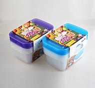 china colorido fabricante tampas recipiente de alimento freezer e microondas