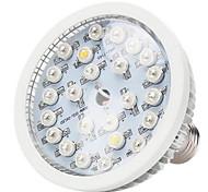 24W E26/E27 Luces LED para Crecimiento Vegetal 24 LED de Alta Potencia 580-660 lm Blanco Cálido Blanco Natural Rojo Azul UV (Luz Negra) V