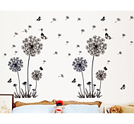 Romantic Dandelion bBedroom Living Room Wall