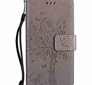 Для Кошелек Бумажник для карт со стендом Рельефный Кейс для Чехол Кейс для дерево Твердый Искусственная кожа для NokiaNokia Lumia 950