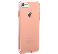 Baseus For Dustproof Ultra-thin Case Back Cover Case Solid Color Soft TPU for Apple iPhone 7 Plus iPhone 7