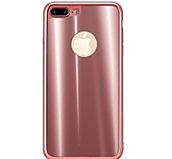 For Apple iPhone 7 Plus 7 Case Cover Shockproof Back Cover Solid Color Soft TPU