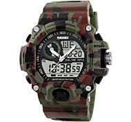 Masculino Mulheres Relógio Esportivo Relógio Militar Relógio de Pulso Relogio digital Quartzo Digital Quartzo JaponêsLED LCD Calendário