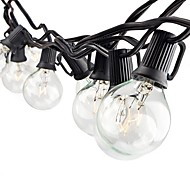 LIDORE String Lights with G40 Bulbs UL Listed 25ft Outdoor String Lights for Patio Garden Commercial Party