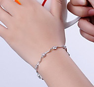 Chain Bracelet Sterling Silver Others Fashion Gift Jewelry Gift 1pc