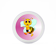 Universal  Cute Bee  5V 2A  Wireless Charging Pad Mobile Wireless Power Charger for Galaxy S6 S6 EDGE  S7 S7 EDGE NOTE5 Samsung HTC LG Nexus Nokia
