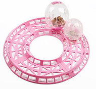 Rodents Exercise Wheels Plastic Pink