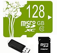 Outro 128GB MicroSD Classe 10 20 Outro Leitor de Cartão Tudo-em-Um Leitor de Cartão Micro SD Leitor de Cartão SD USB 2.0